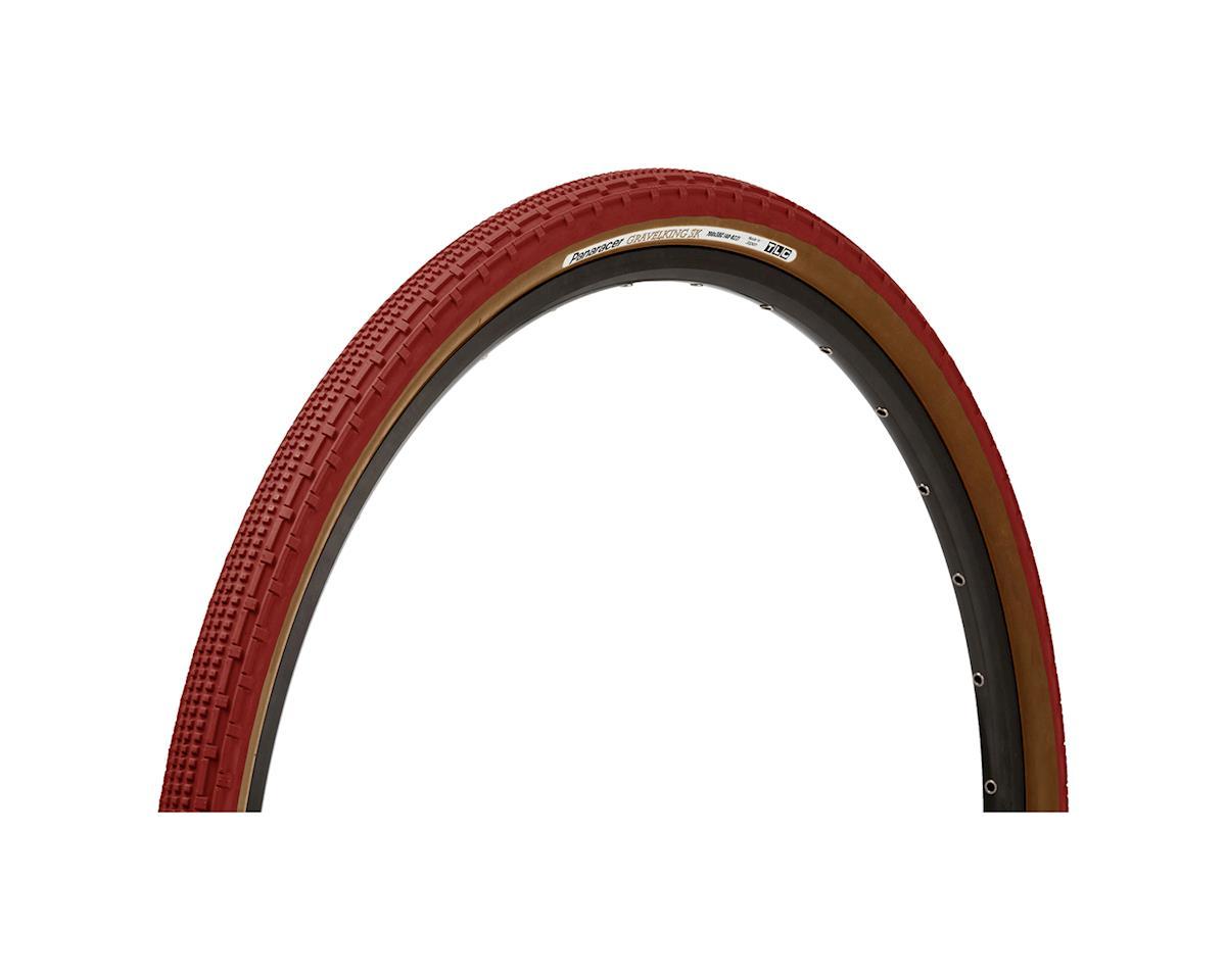 Panaracer Gravelking SK Tubeless Gravel Tire (Bordeaux/Brown) (700 x 32)