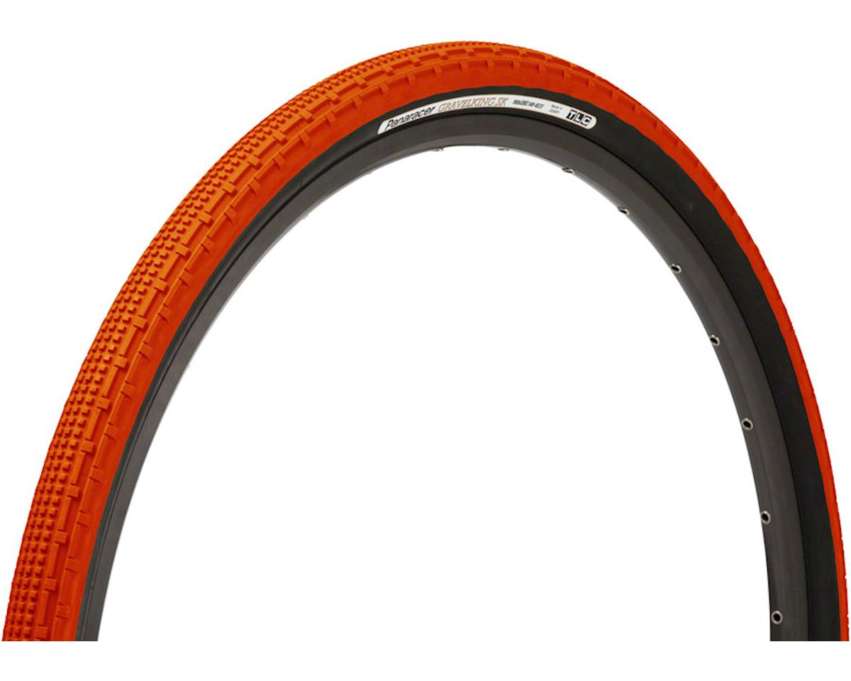 Panaracer Gravelking SK Tubeless Gravel Tire (Orange/Black) (700 x 32)