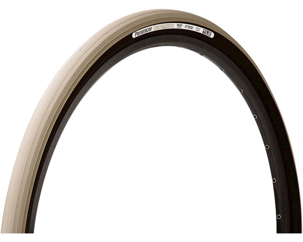Image 1 for Panaracer Gravelking Tubeless Slick Tread Gravel Tire (Sand Stone/Black) (700 x 35)