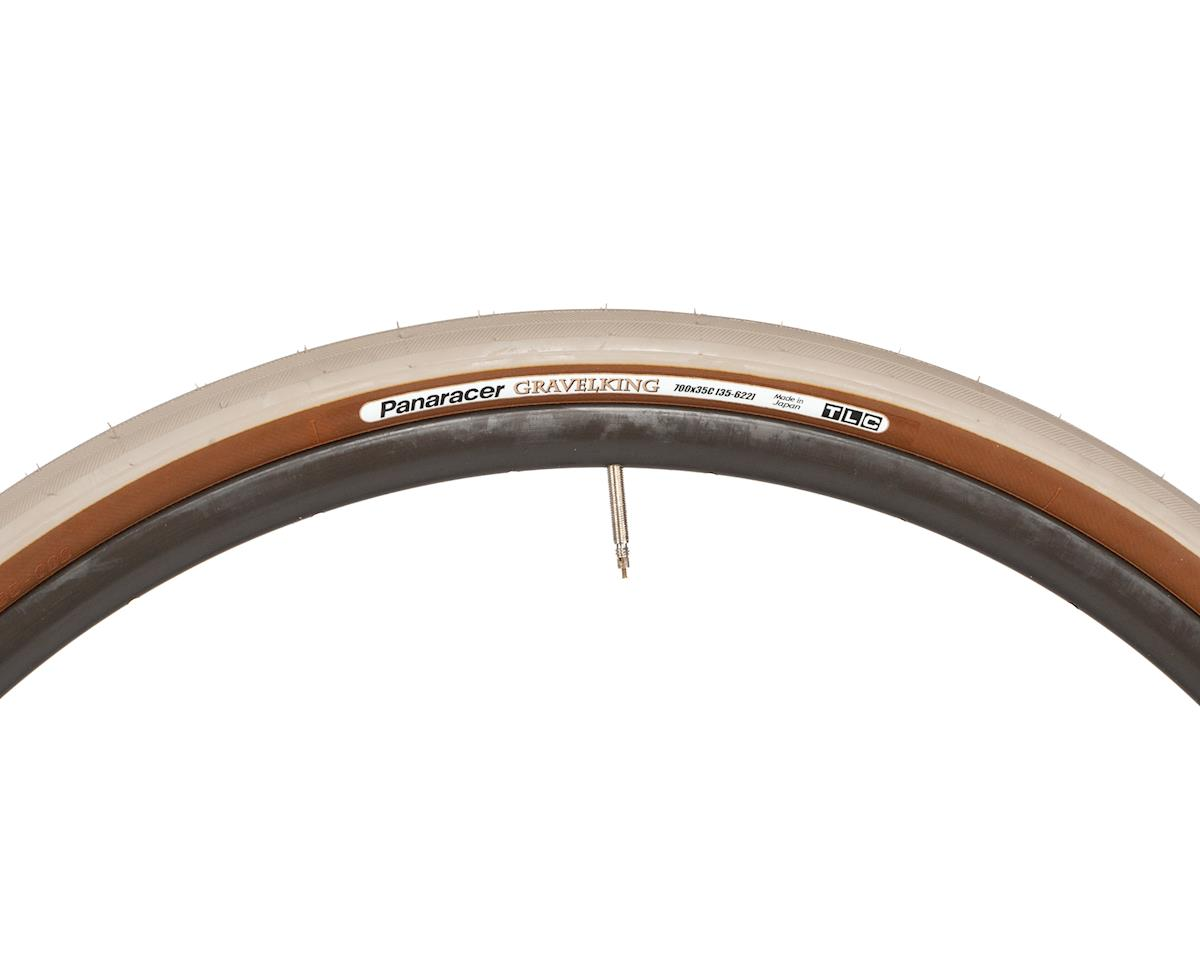 Panaracer Gravelking Tubeless Gravel Tire (Sand Stone/Brown) (700 x 35)
