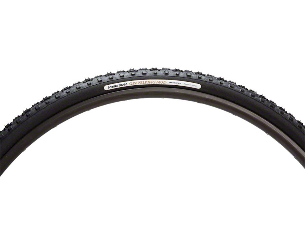 Panaracer Gravelking Mud Tubeless Gravel Tire (Black/Black) (700 x 35)