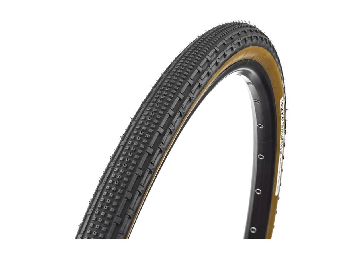 Panaracer GravelKing SK Tire - 700 x 35, Tubeless, Folding, Black/Brown
