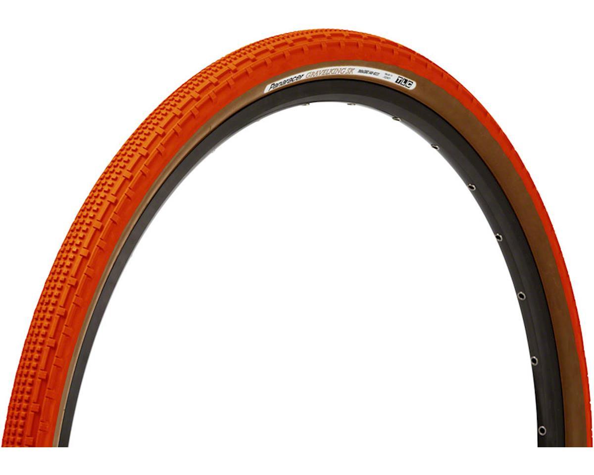 Panaracer Gravelking SK Tubeless Gravel Tire (Orange/Brown) (700 x 35)