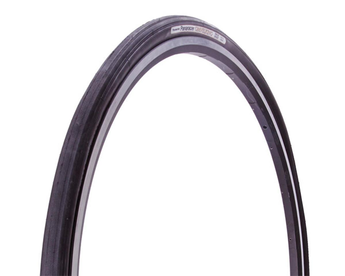 Panaracer GravelKing Slick Tire 700x38 Folding Bead, Black Sidewall