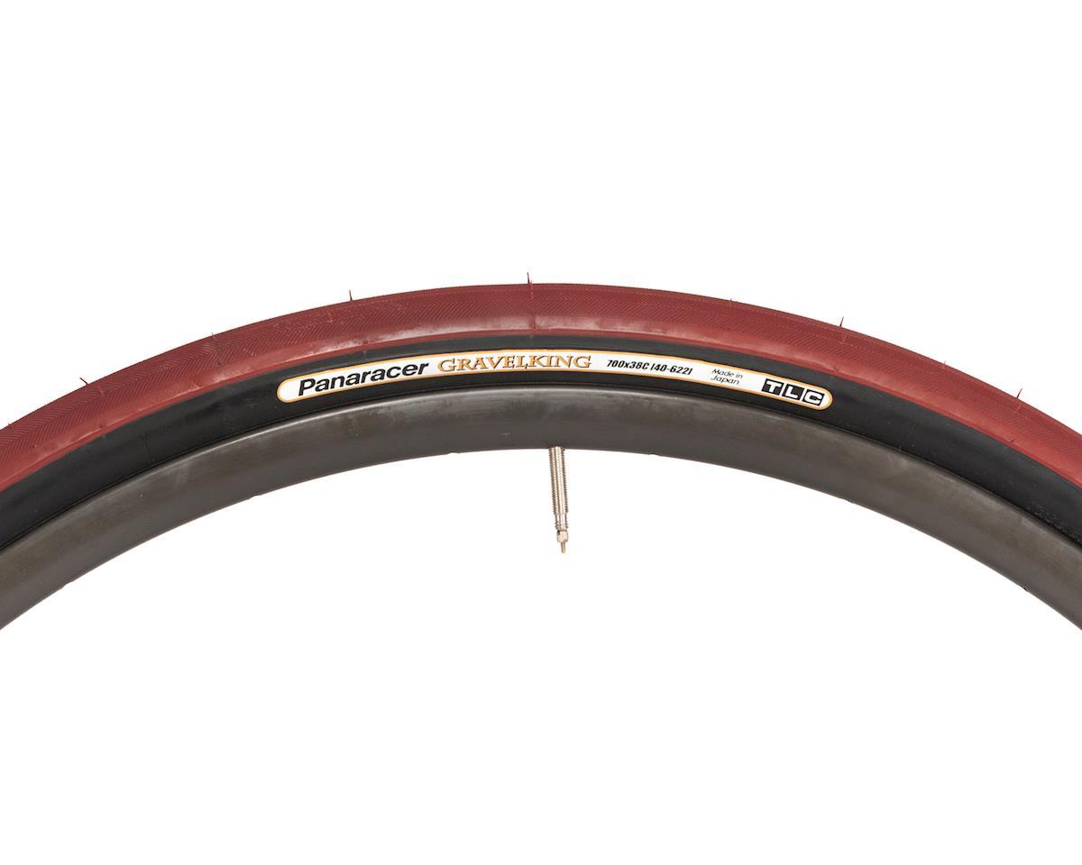 Panaracer Gravelking Tubeless Gravel Tire (Bordeaux/Black) (700 x 38)