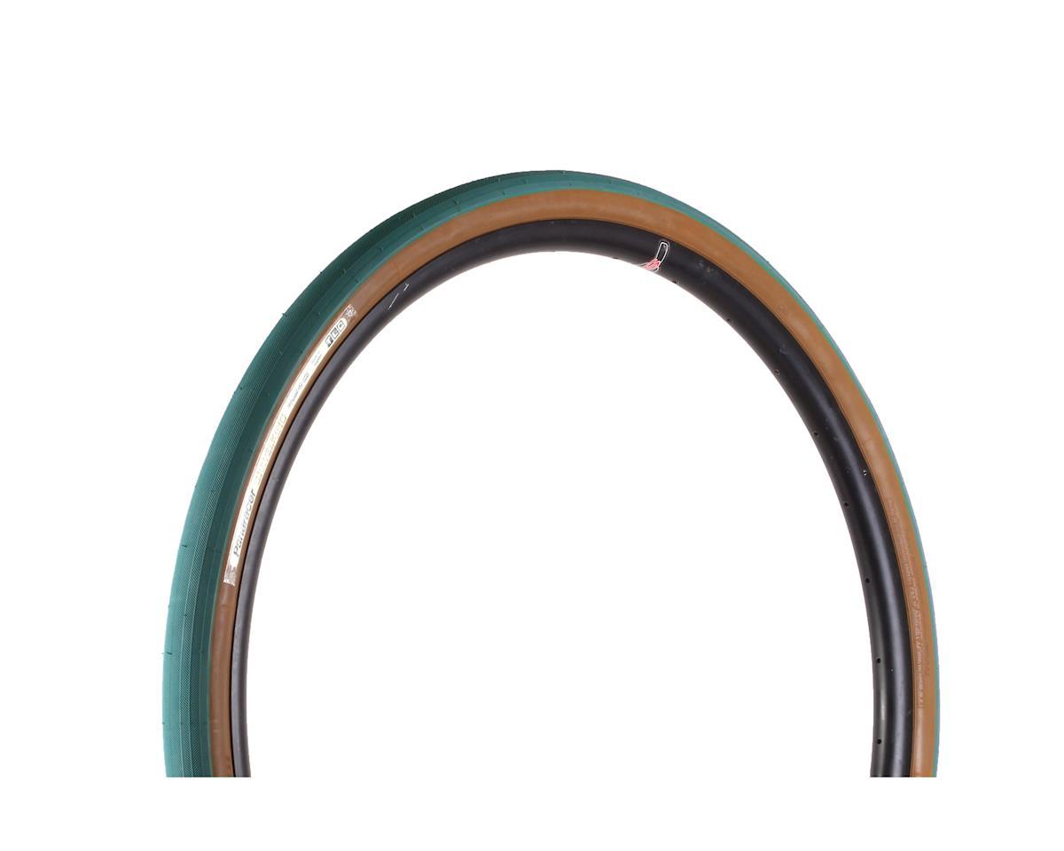 Panaracer Gravelking Tubeless Slick Tread Gravel Tire (Nile Blue/Brown) (700 x 38)