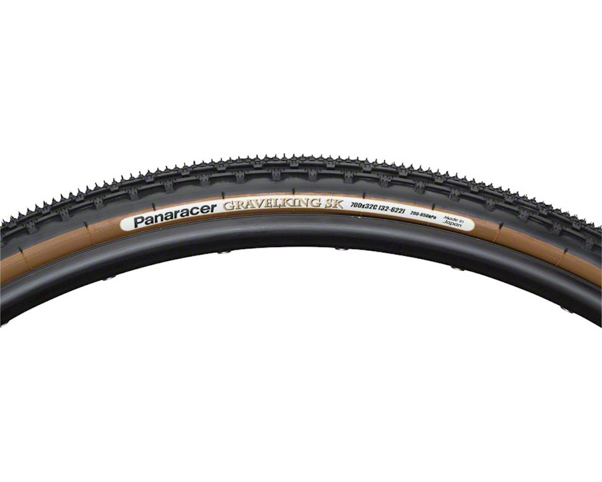 Panaracer Gravelking SK Tubeless Gravel Tire (Black/Brown) (700 x 38)