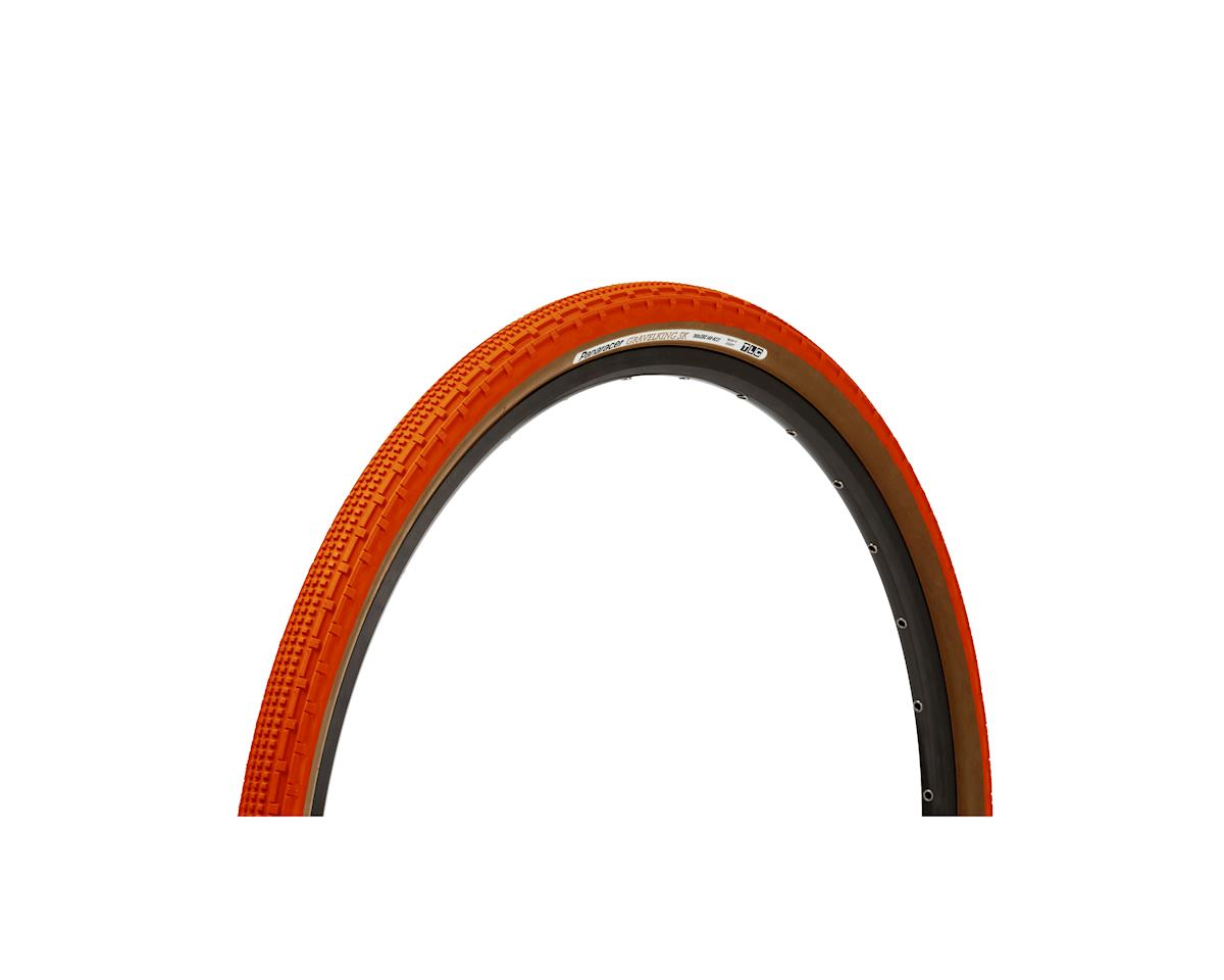 Panaracer Gravelking SK Tubeless Gravel Tire (Orange/Brown) (700 x 38)