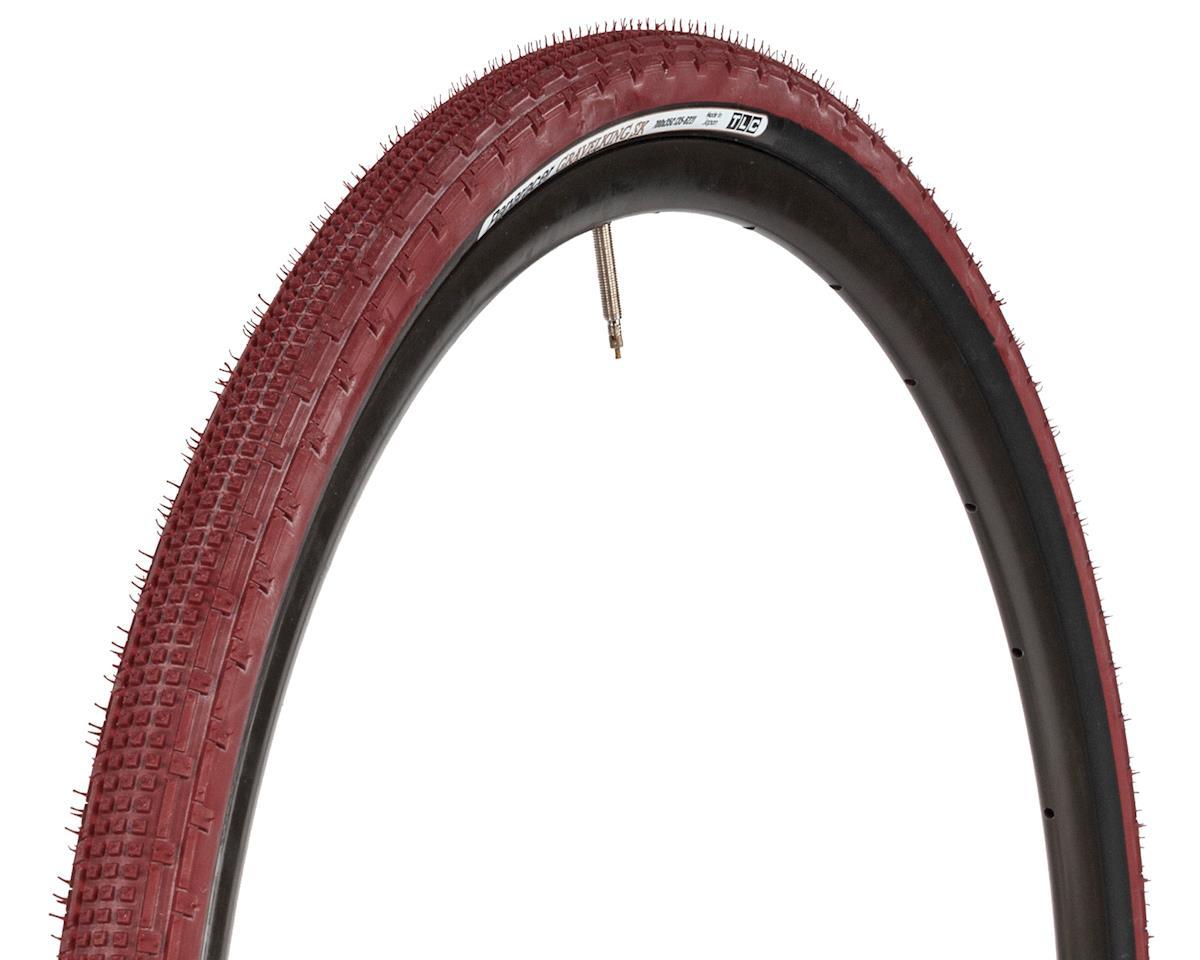 Panaracer Gravelking SK Tubeless Gravel Tire (Bordeaux/Black) (700 x 43)
