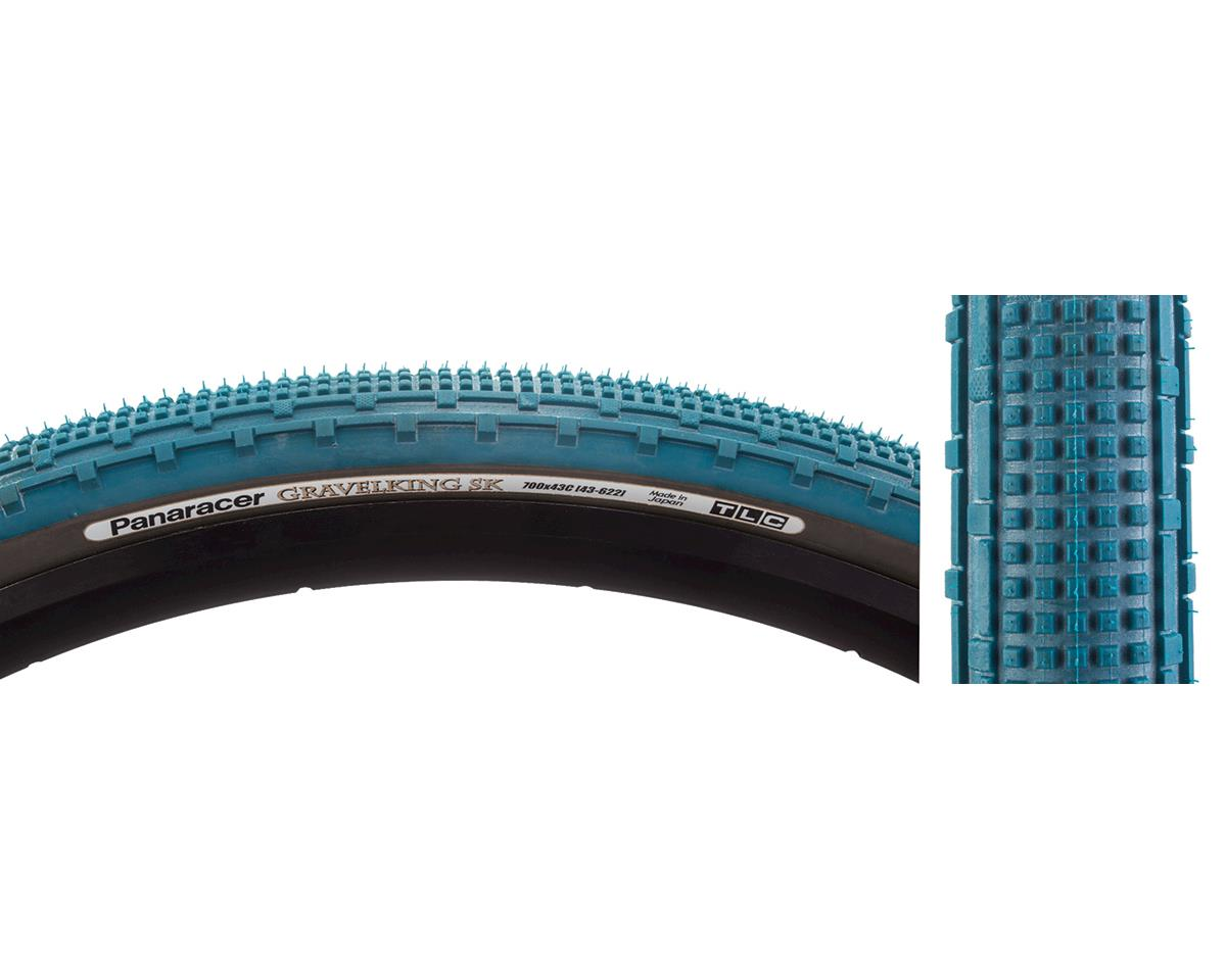 Panaracer Gravelking SK Tubeless Gravel Tire (Nile Blue/Black) (700 x 43)