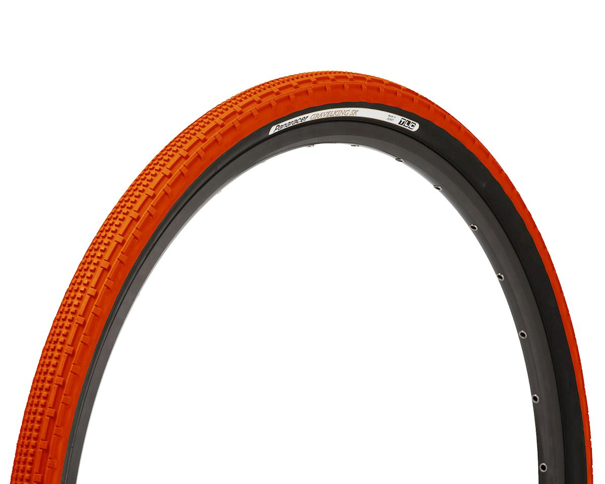 Panaracer Gravelking SK Tubeless Gravel Tire (Orange/Black) (700 x 43)