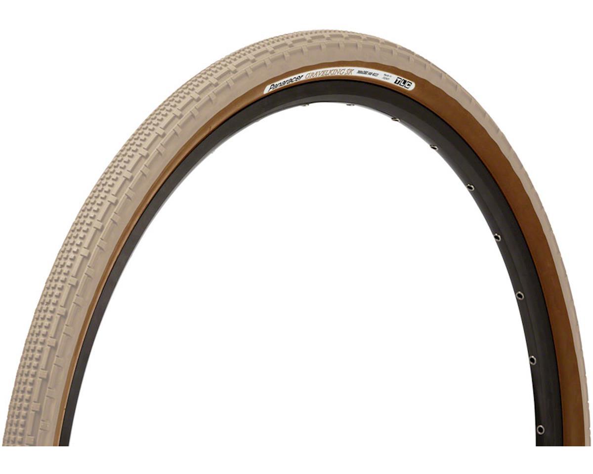 Panaracer Gravelking SK Tubeless Gravel Tire (Sand Stone/Brown) (700 x 43)