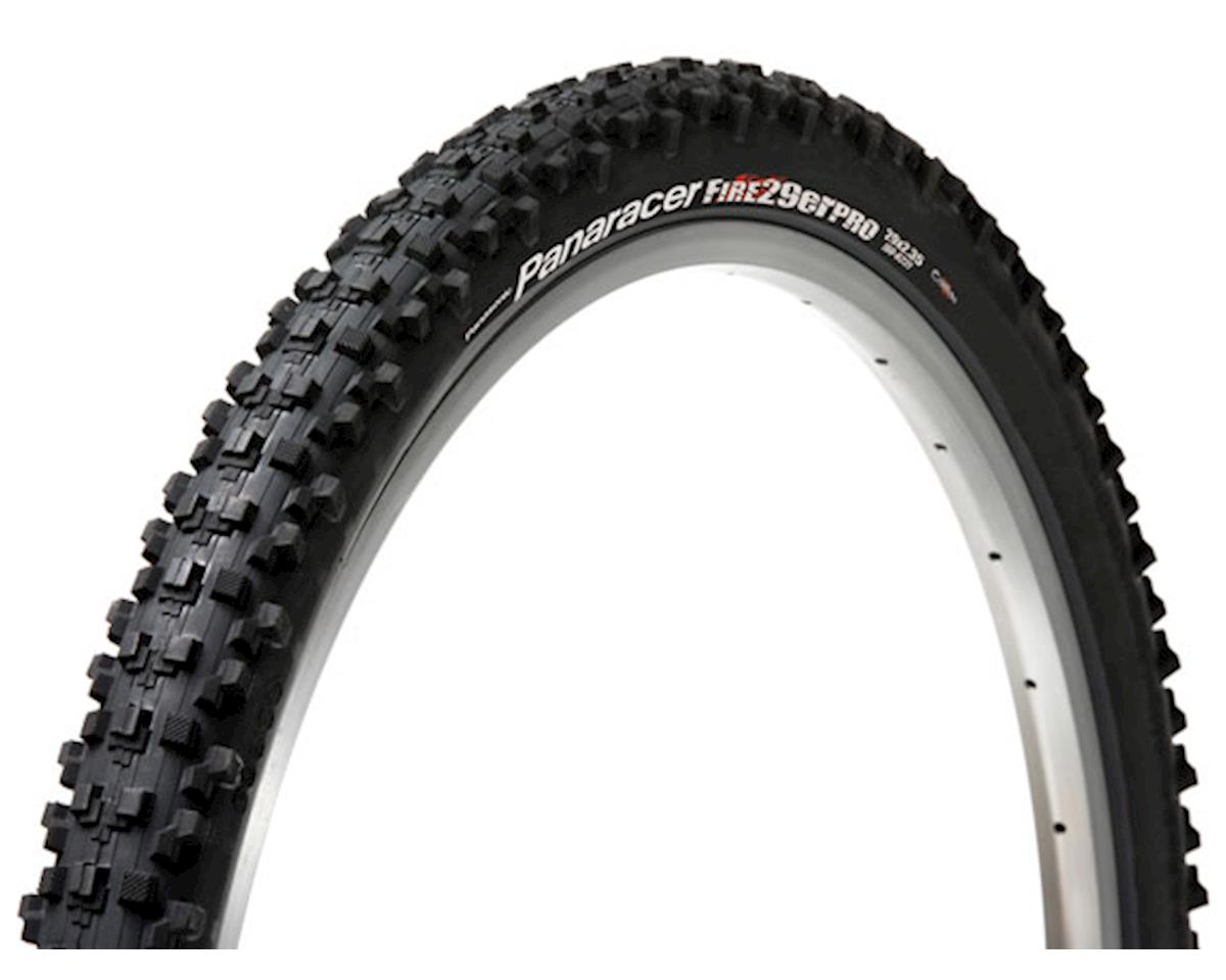 Panaracer Fire Pro Tubeless Ready 29 x 2.35 Tire, Folding Bead, Black