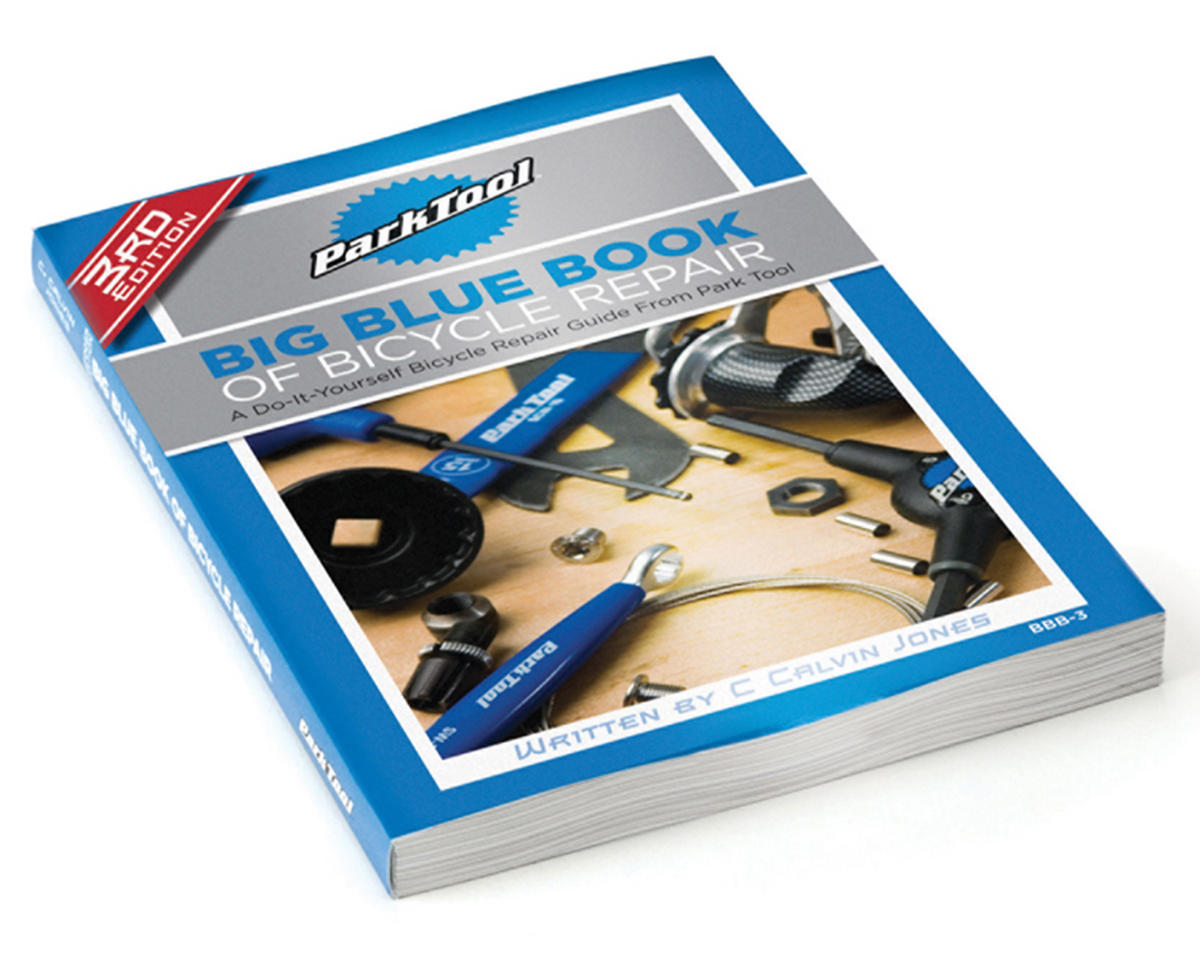 Park Tool BBB-3 Big Blue Book Bicycle Repair & Maintenance Guide - 3rd Edition