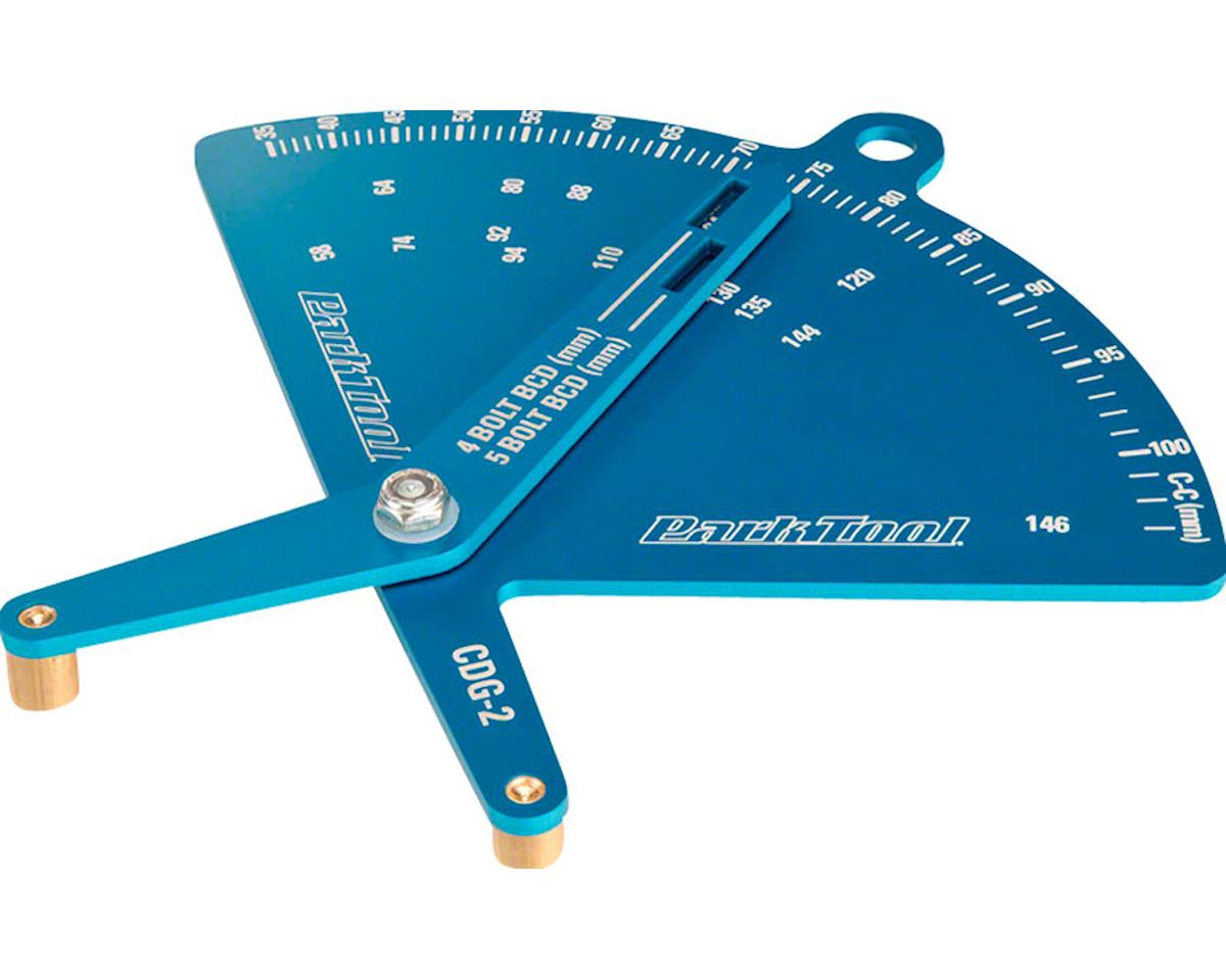 Park Tool Chainring Diameter Gauge (Measures BCD)