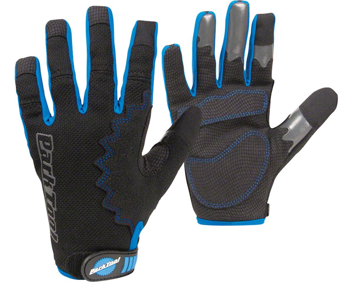 Park Tool GLV-1 Mechanics Glove: XX Large, Black/Blue