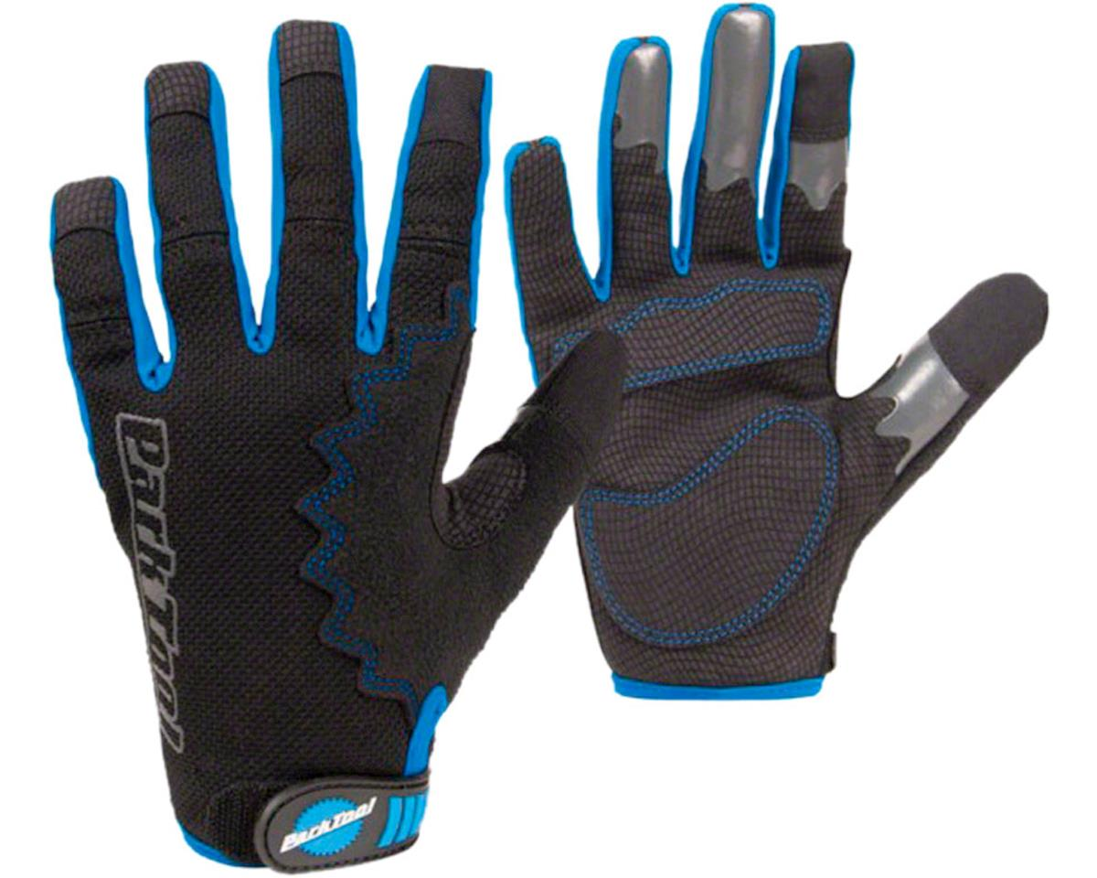 Park Tool Mechanic's Gloves (Black/Blue) (L)