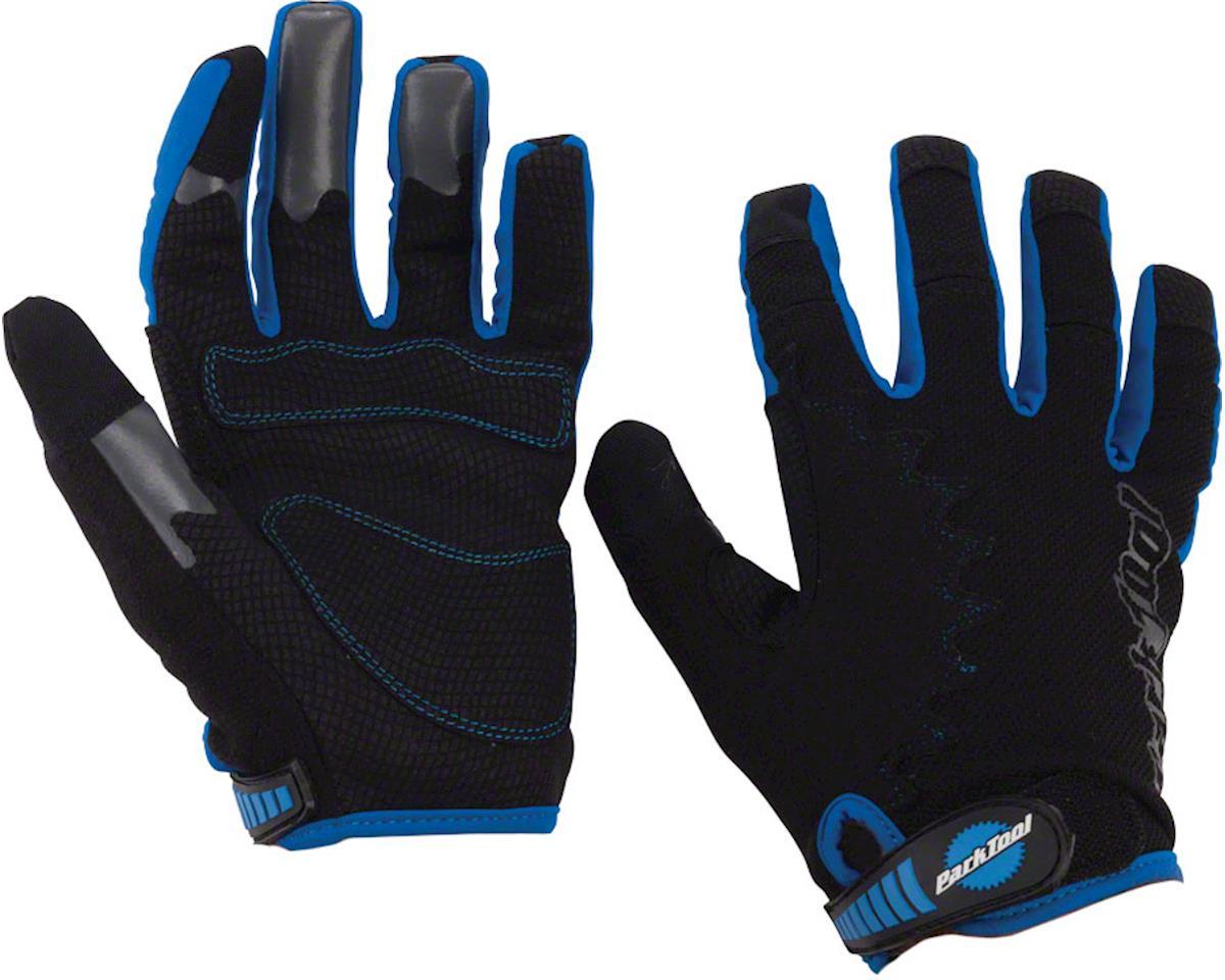 Park Tool Mechanic's Gloves (Black/Blue) (M)