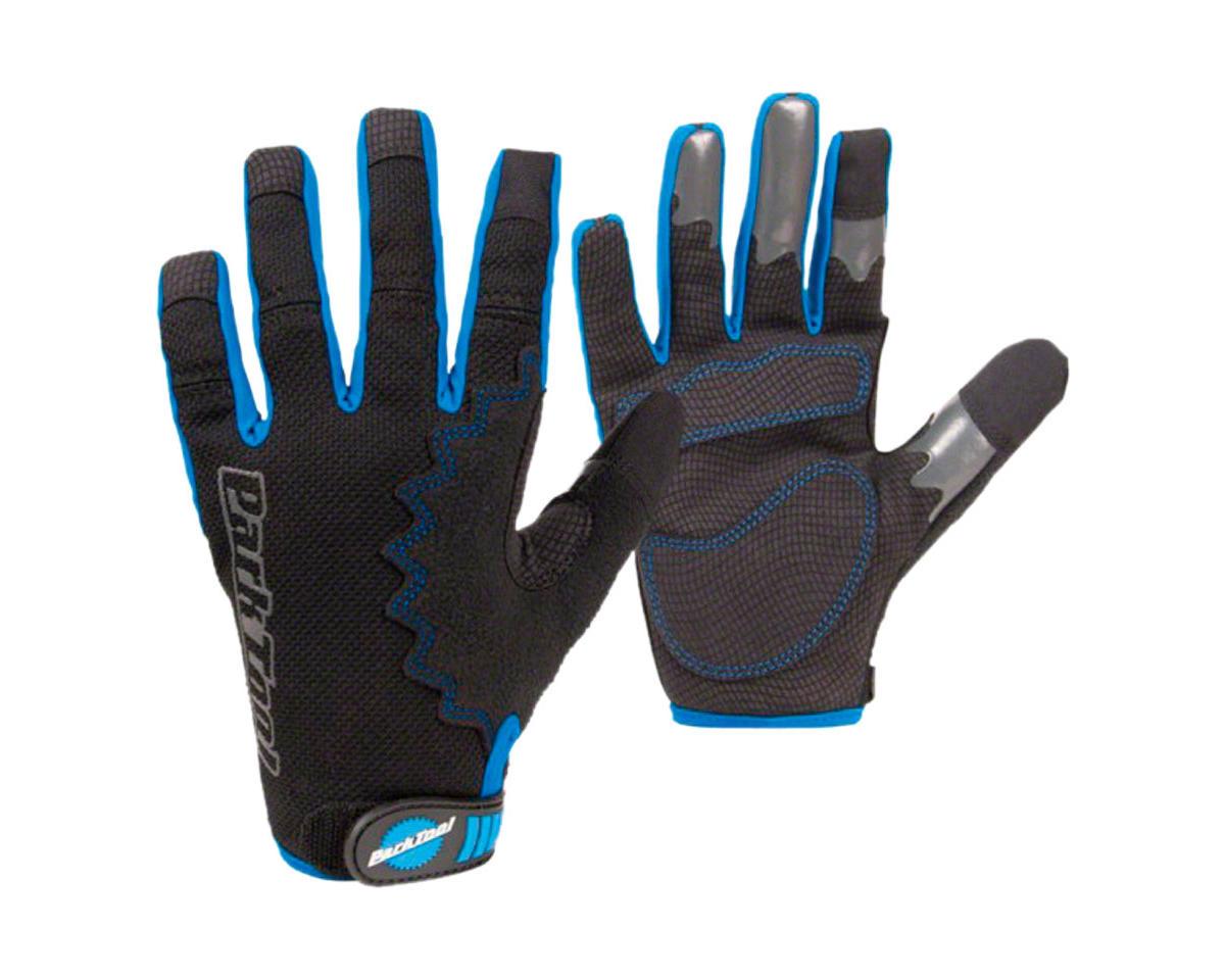 Park Tool Mechanic's Gloves (Black/Blue) (S)