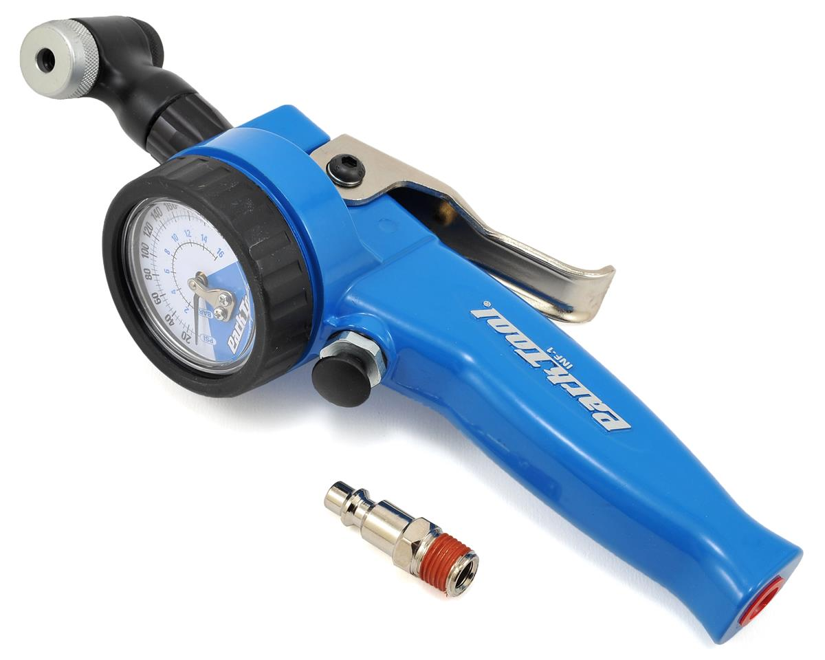 Park Tool INF-1 Air Compressor Shop Inflator w/Gauge (Presta & Shrader)