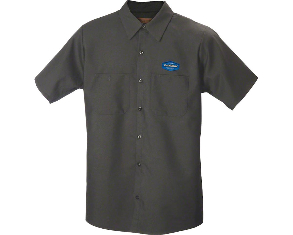 Park Tool MS-1.2 Mechanic Shirt (Charcoal) (L)