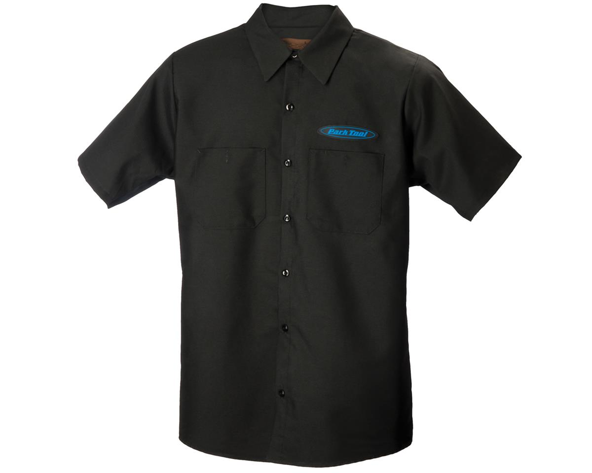 Park Tool Mechanic's Shirt (Black) (2XL)