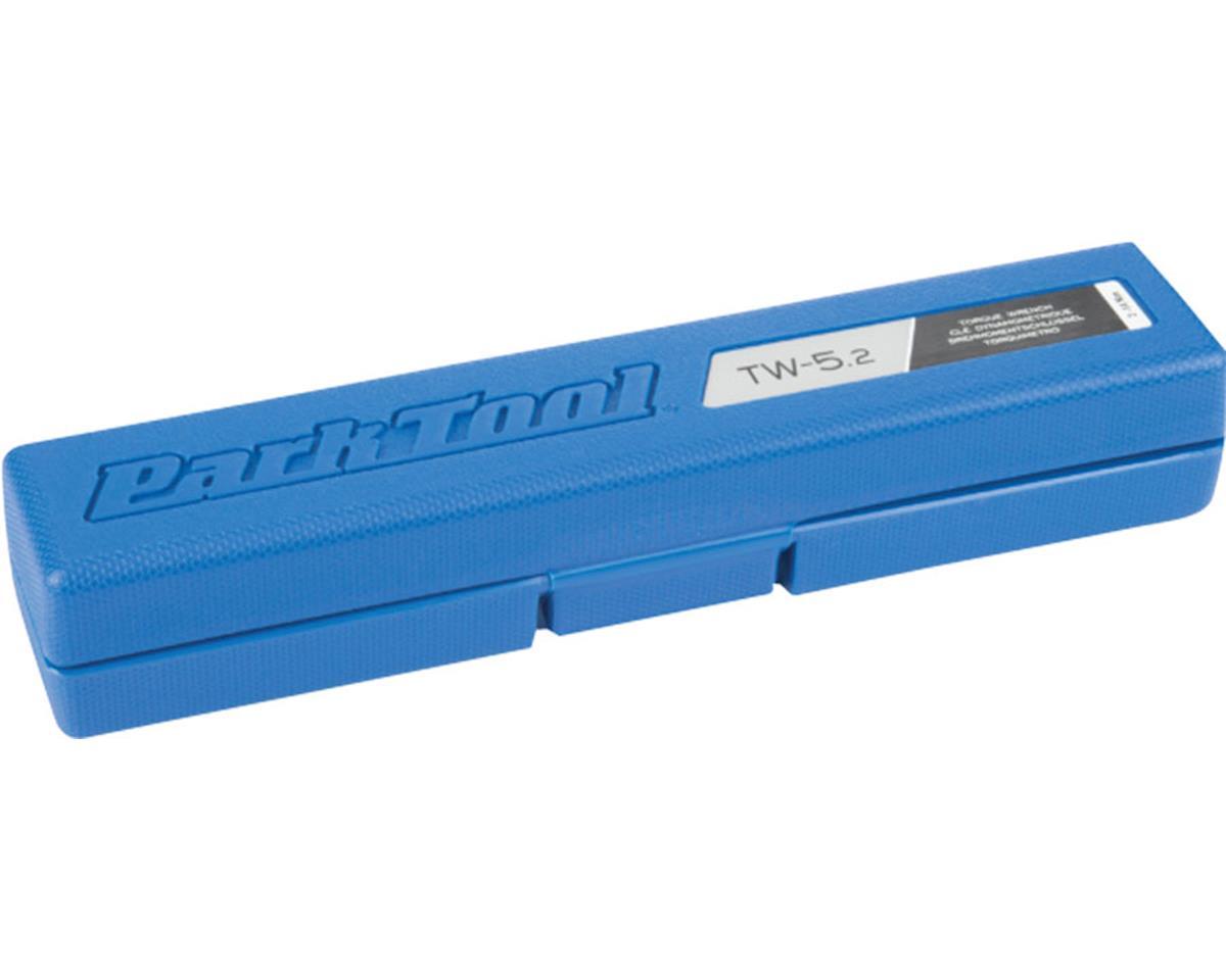 "Park Tool TW-5.2 Clicker Torque Wrench 18-124 Inch Pounds (3/8"" Drive)"