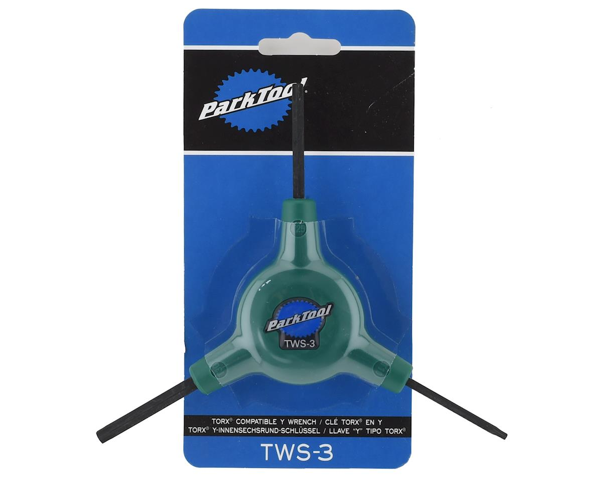 Park Tool TWS-3C Torx Compatible 3-Way Hex Wrench