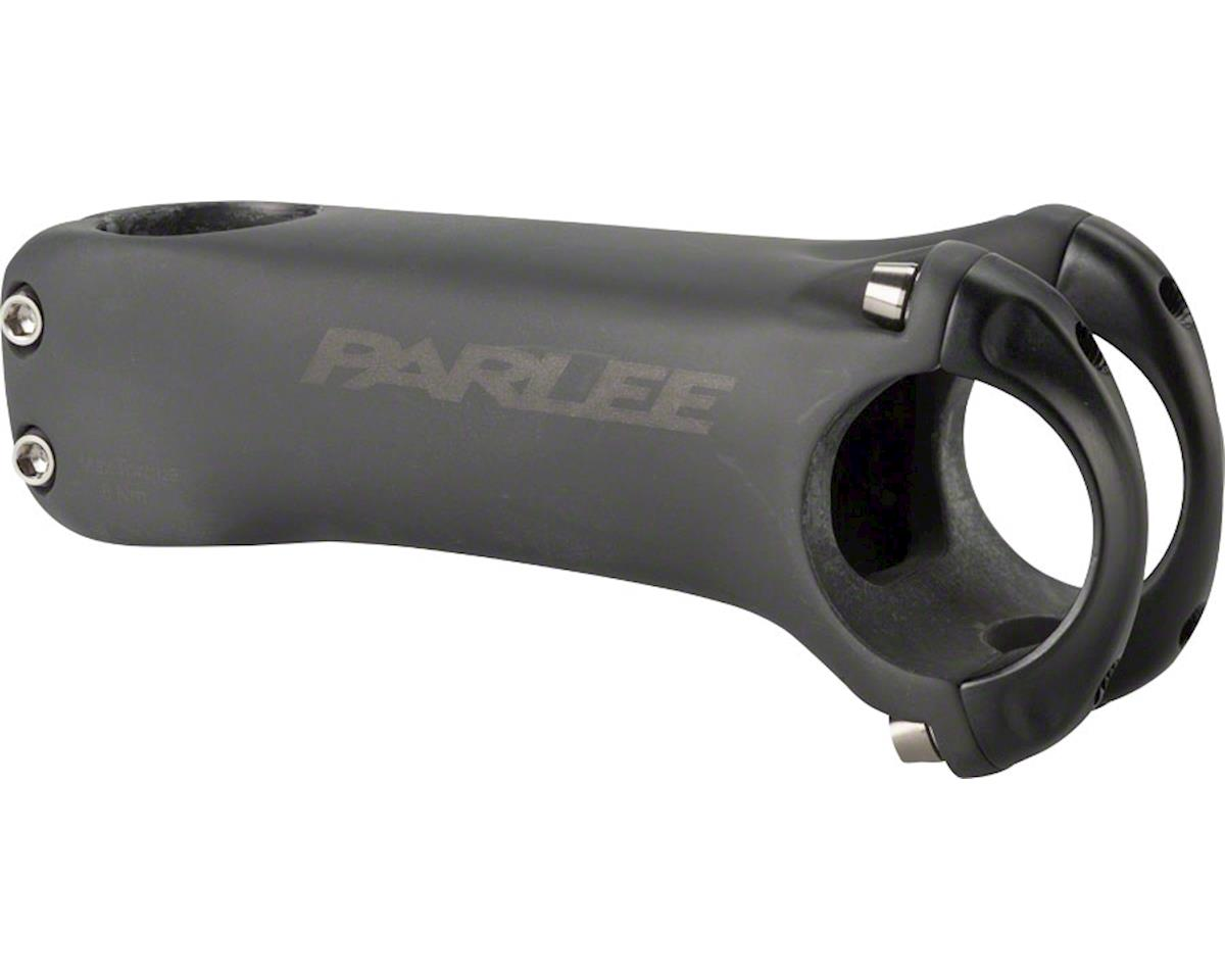 "Parlee Carbon Stem - 110 mm, 35.0 Clamp, -6, 1 1/8"", Carbon, Matte Black"