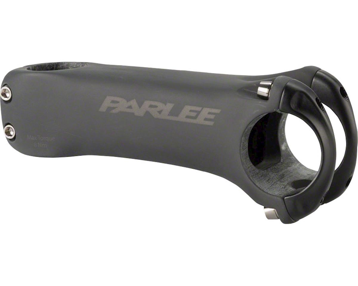 "Parlee Carbon Stem - 120mm, 35 Clamp, -6, 1 1/8"", Carbon, Matte Black"
