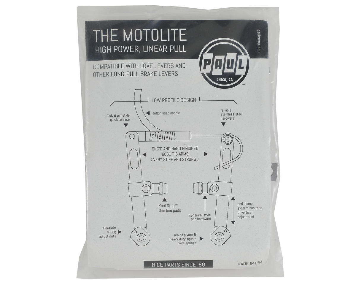 Paul Components Motolite Z Linear Pull (Silver)