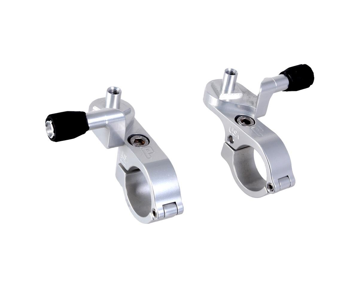 Paul Components Microshift Thumbies Shifter Mounts (Silver) (Pair)