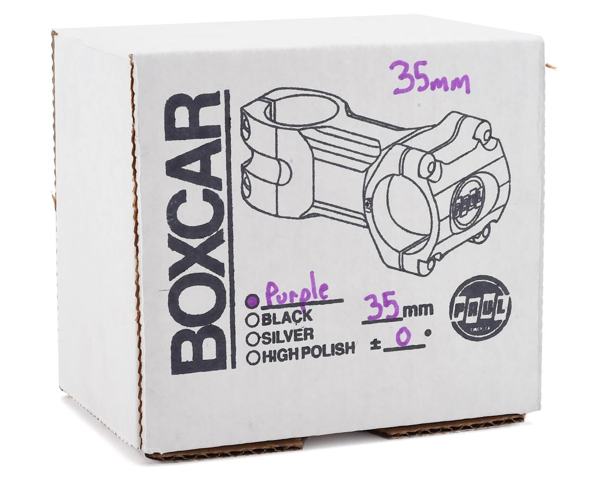 Paul Components Boxcar Stem (35mm Clamp) (35mm Length) (Purple)