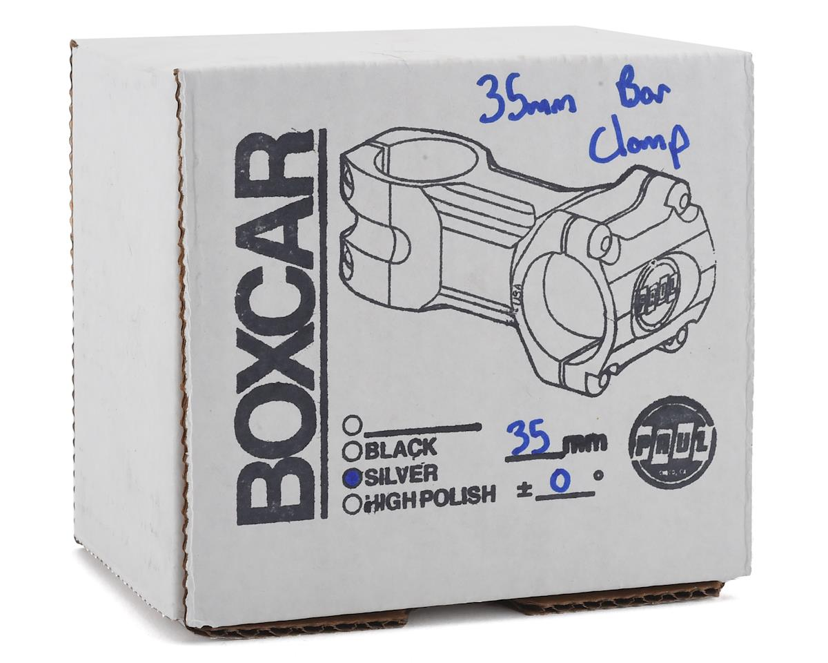 Paul Components Boxcar Stem (35mm Clamp) (35mm Length) (Sliver)