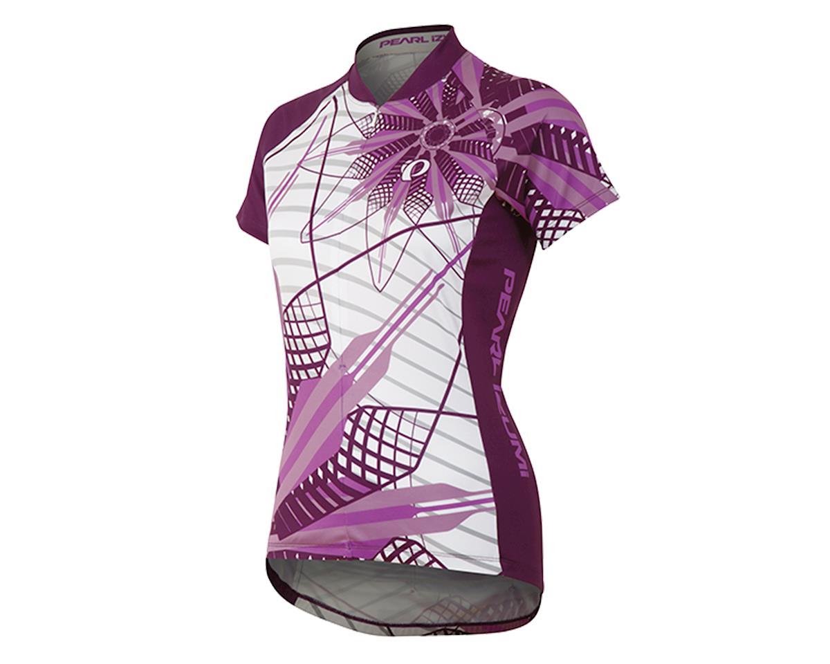 Pearl Izumi Women's Select LTD Cycling Jersey (Flower Meadow Mauve)