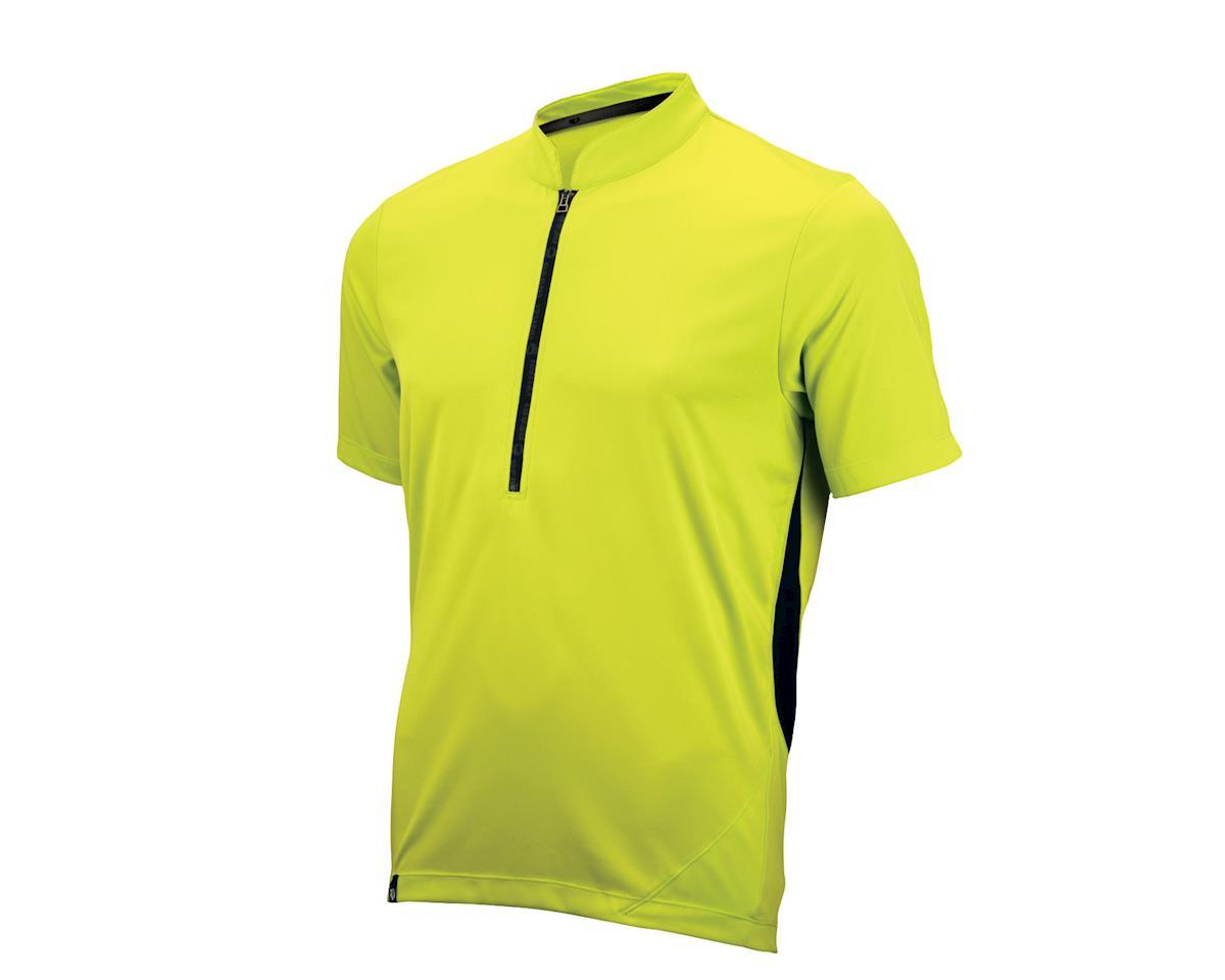 Pearl Izumi Divide Short Sleeve Jersey (Lime)