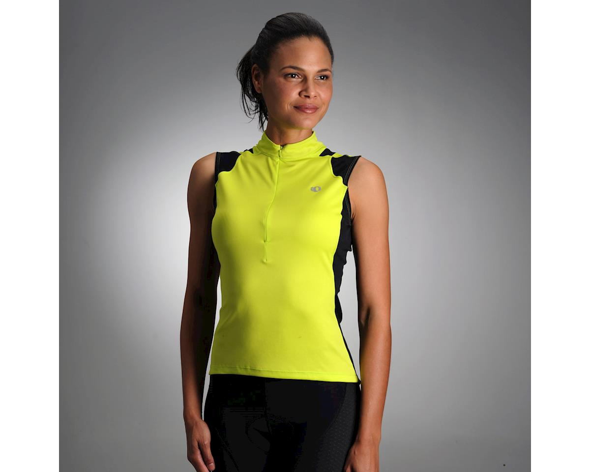 Pearl Izumi Women's Select Sleeveless Jersey (Lime)