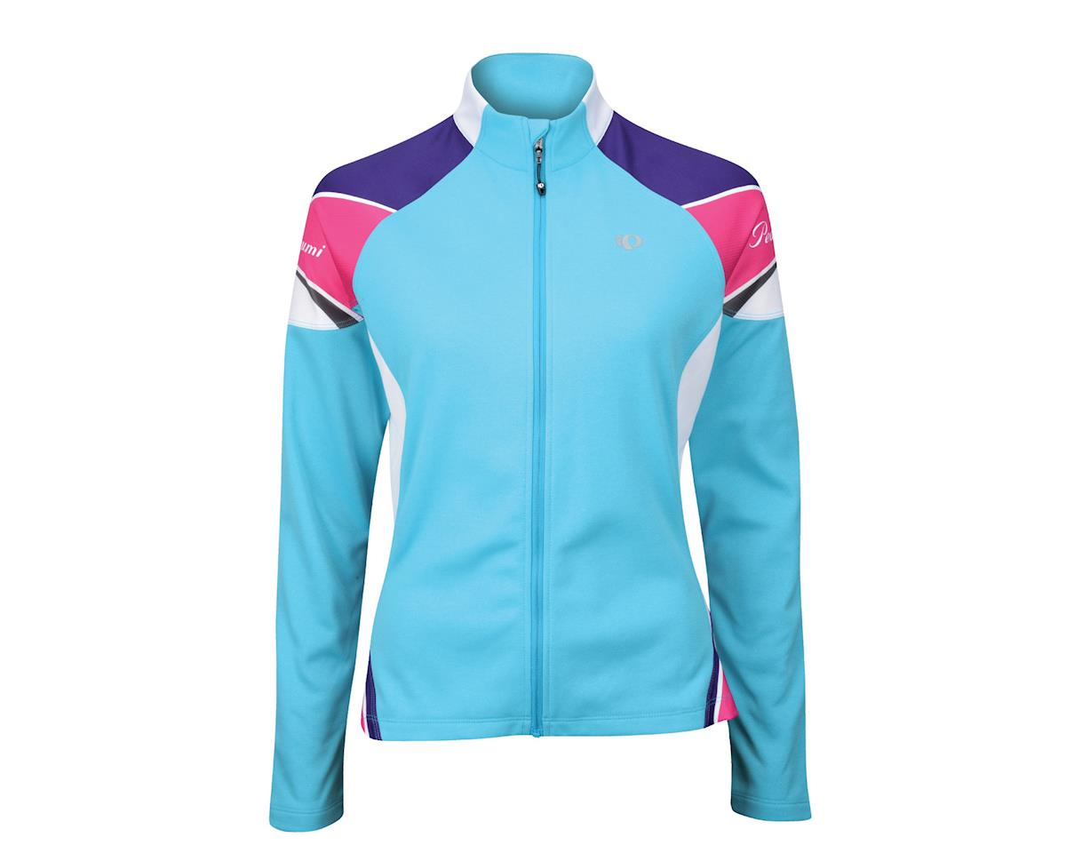 Pearl Izumi Women's Elite Thermal Long Sleeve Jersey (Bri Blu)