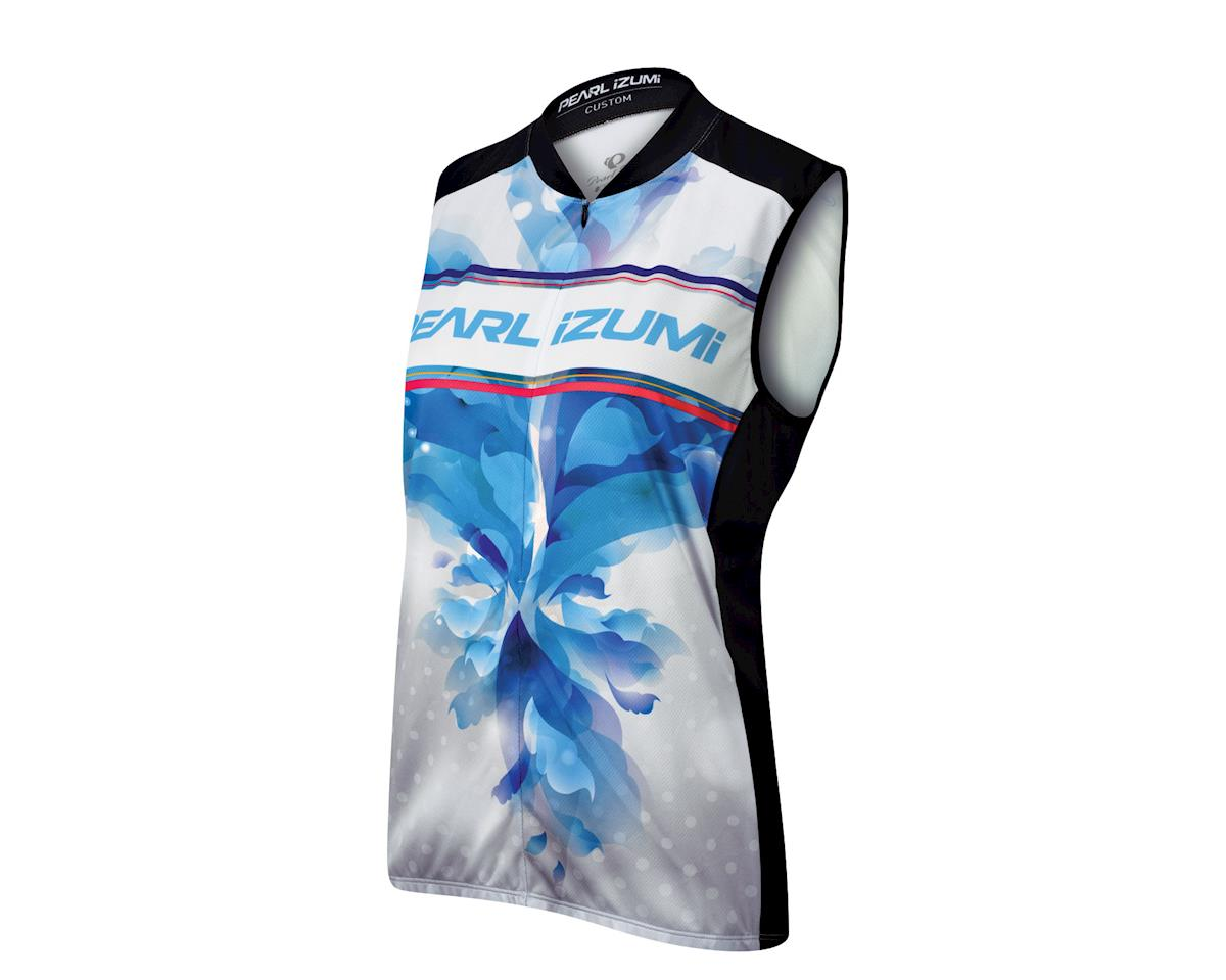 Image 1 for Pearl Izumi Women's Select LTD Sleeveless Jersey - Performance Exclusive (White/Magenta)