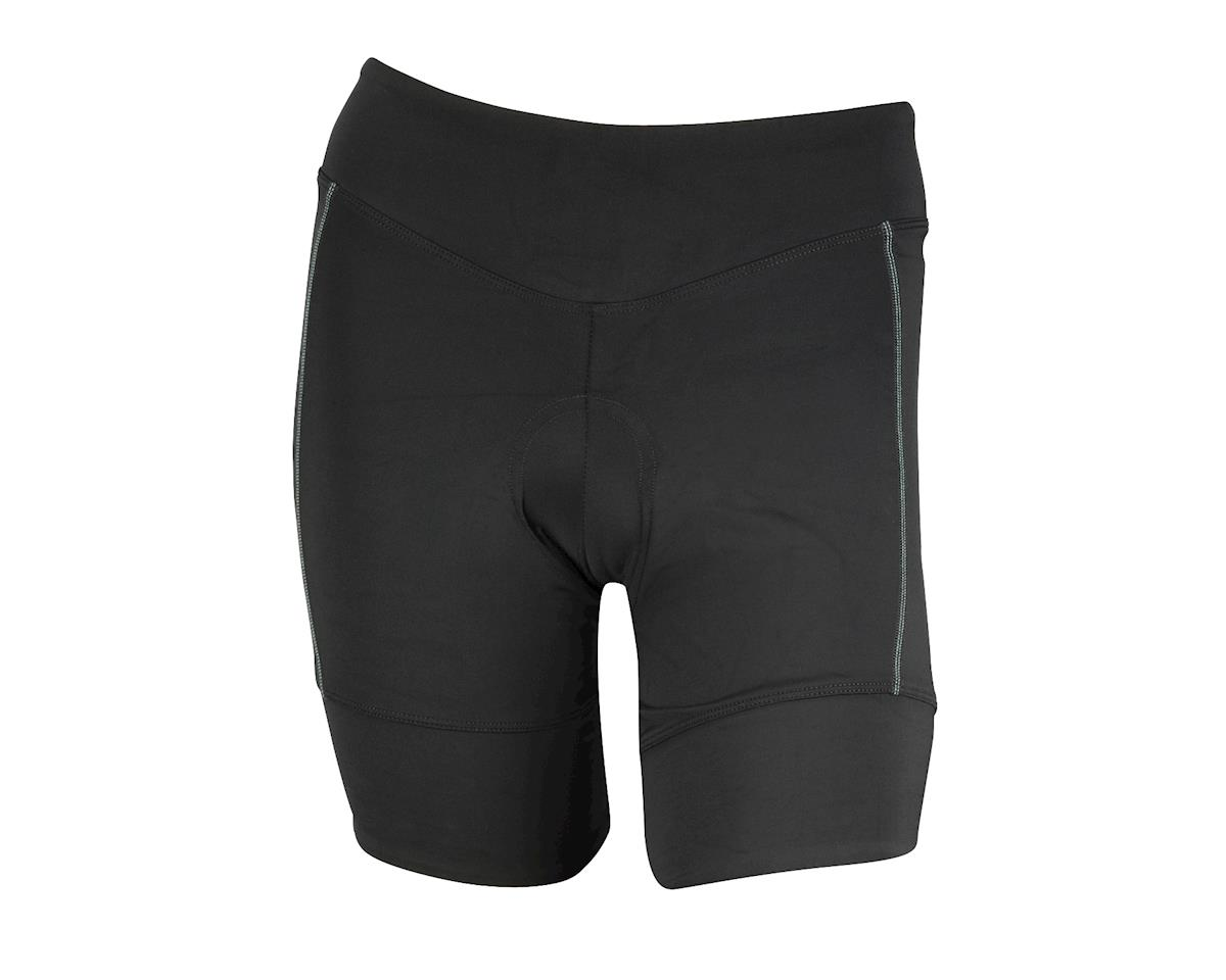 Pearl Izumi Women's Podium Shorts - Performance Exclusive (Black/Aqua)