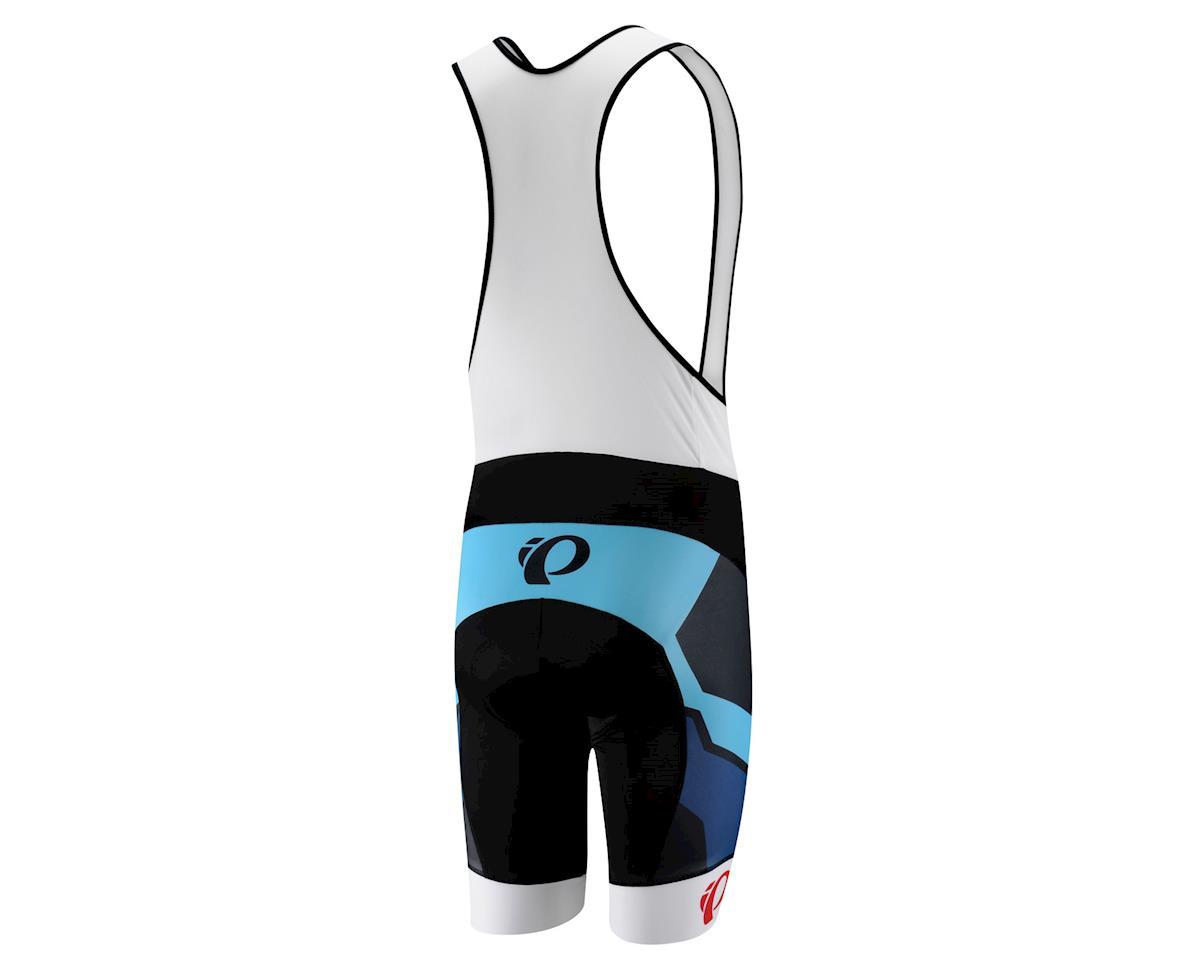 Pearl Izumi Elite LTD Green Flash & Badge Blue Atoll Bib Shorts (Black / Green)