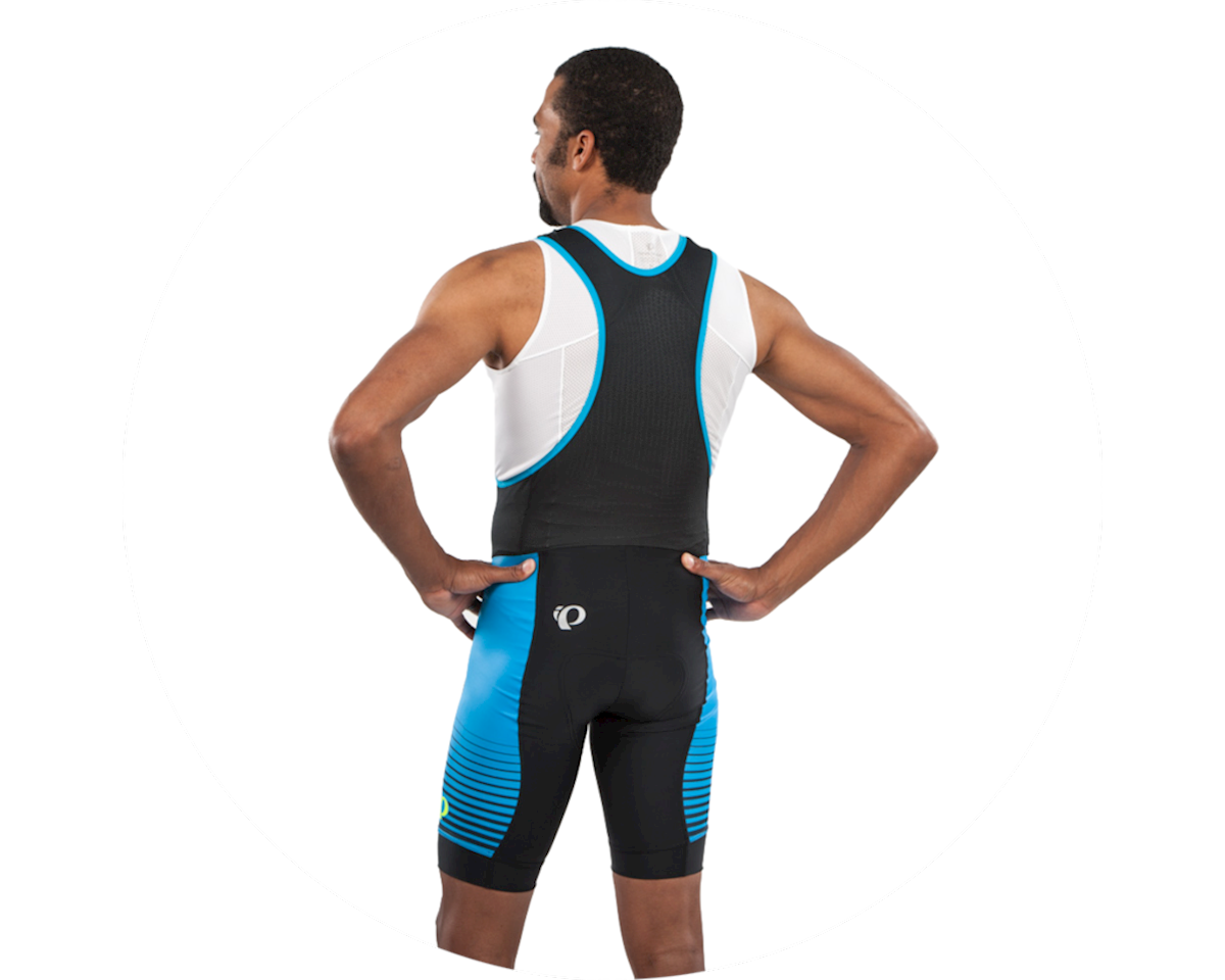 Pearl Izumi Select LTD Bib Short (Atomic Blue/Mid Navy Diffuse) (2XL)