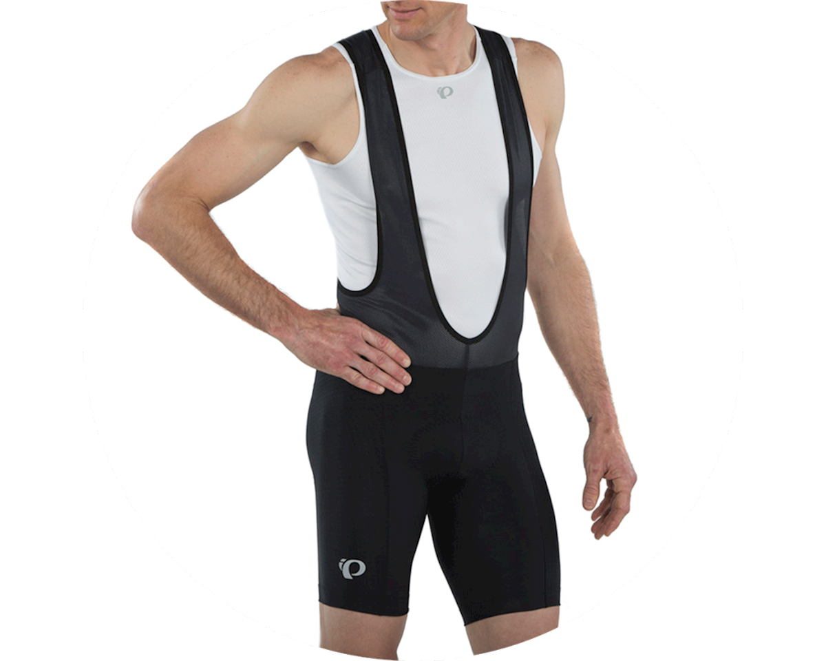 Pearl Izumi Escape Quest Bib Short (Black Texture) (M)