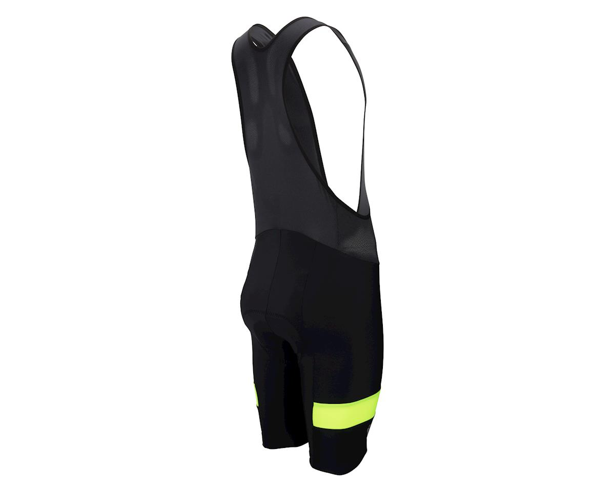 Pearl Izumi Quest Splice Bib Shorts (Matte Black/High Vis) (XL)