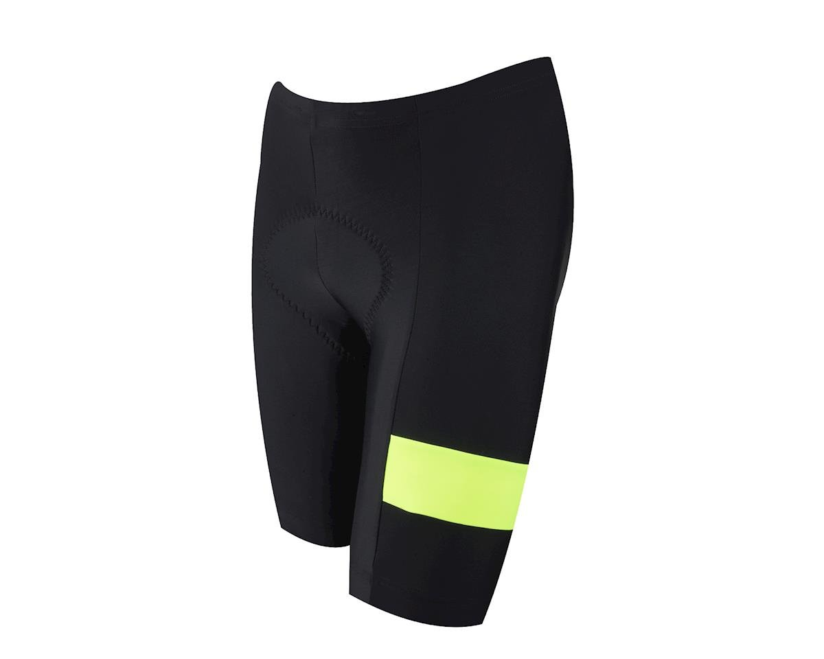 Pearl Izumi Quest Splice Shorts (Matte Black/High Vis)