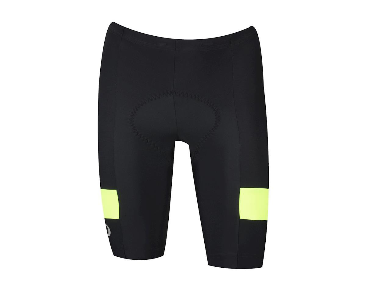 Pearl Izumi Quest Splice Shorts (Matte Black/High Vis) (XL)