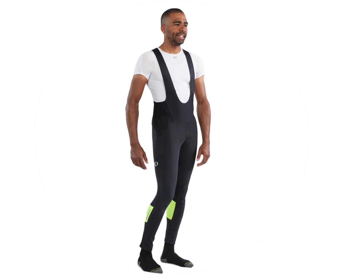 Pearl Izumi Elite Escape AmFIB Cycling Bib Tight (Black/Hi Vis) (L)