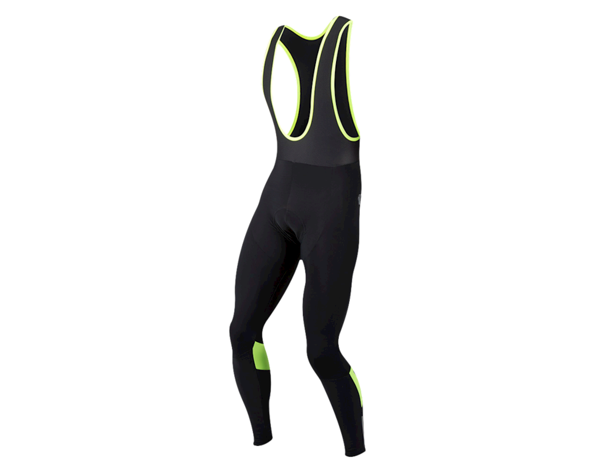 Pearl Izumi Pursuit Thermal Bib Tight (Black/Hi Vis) (2XL)