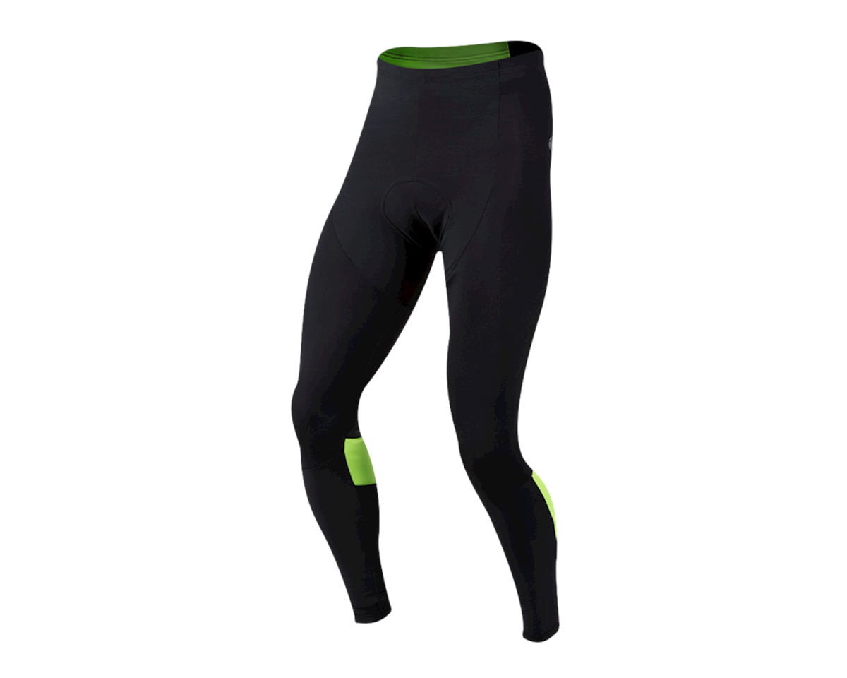 Pearl Izumi Pursuit Thermal Cycling Tight (Black/Hi Vis) (L)