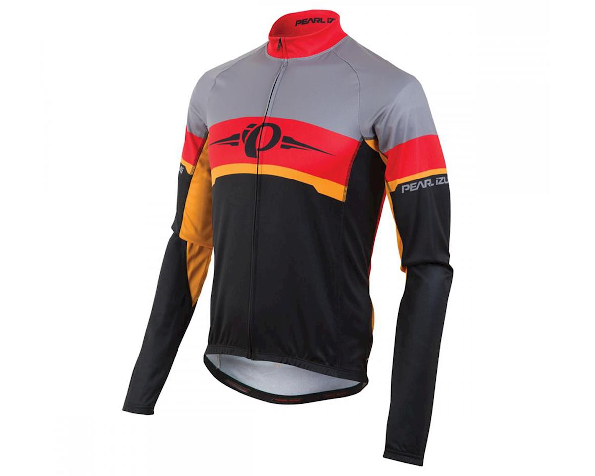 Pearl Izumi Elite Thermal LTD Long Sleeve Cycling Jersey (Badge/True Red)